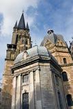 Cathédrale d'Aix-la-Chapelle Photos stock