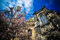 cathédrale d'Aix-la-Chapelle Images stock