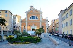 Cathédrale d'Ajaccio Images stock