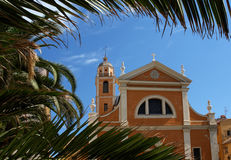 cathédrale d'Ajaccio photographie stock