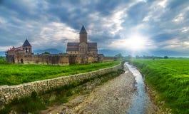 Cathédrale d'Alaverdi en Géorgie Images stock
