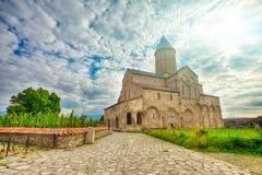 Cathédrale d'Alaverdi en Géorgie Photos stock