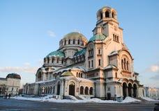 Cathédrale d'Alexandre Nevski Images libres de droits