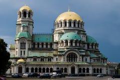 Cathédrale d'Alexandre Nevsky à Sofia Images libres de droits