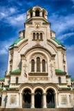 Cathédrale d'Alexandre Nevsky à Sofia Photos stock