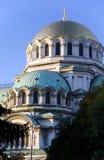 Cathédrale d'Alexandre Nevsky à Sofia, Bulgarie Photos stock