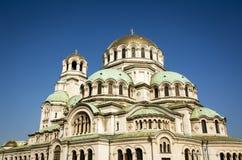 Cathédrale d'Alexandre Nevsky à Sofia, Bulgarie Photo stock