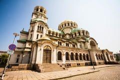 Cathédrale d'Alexandre Nevsky Image stock