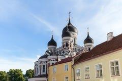 Cathédrale d'Alexandre Nevsky dans Tallinn Photo stock