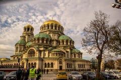Cathédrale d'Alexandre Nevsky, Sofia Photos libres de droits
