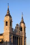 Cathédrale d'Almudena à Madrid Photos libres de droits
