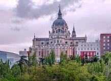 Cathédrale d'Almudena Images stock