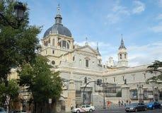 Cathédrale d'Almudena - Madrid Photos stock