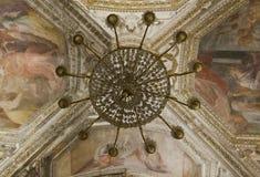Cathédrale d'Amalfi, crypte de St Andrew, détail Photos stock