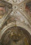 Cathédrale d'Amalfi, crypte de St Andrew, détail Images libres de droits