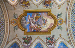 Cathédrale d'Amelia. L'Ombrie. L'Italie. Photo libre de droits