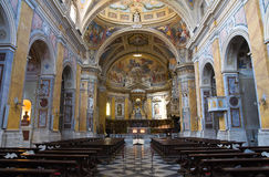 Cathédrale d'Amelia. L'Ombrie. L'Italie. Images stock