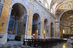 Cathédrale d'Amelia. L'Ombrie. L'Italie. Photo stock