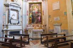 Cathédrale d'Amelia. L'Ombrie. L'Italie. Photographie stock libre de droits