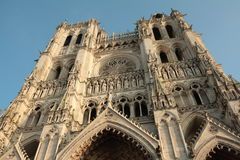 cathédrale d'amiens Images stock