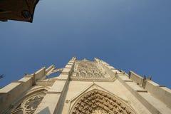 cathédrale d'amiens Image libre de droits