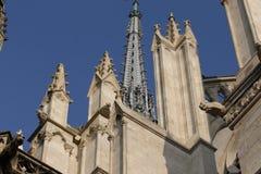 Cathédrale d'Amiens Photographie stock