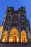 Cathédrale d'Amiens dans les Frances Photos stock