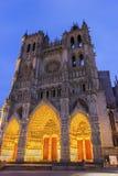 Cathédrale d'Amiens dans les Frances Photo libre de droits