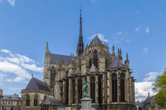 Cathédrale d'Amiens, France Photographie stock