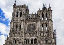 Cathédrale d'Amiens, France Image stock
