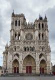 Cathédrale d'Amiens, France Photos libres de droits