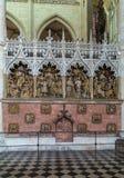 Cathédrale d'Amiens, France Images libres de droits
