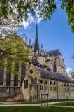 Cathédrale d'Amiens, France Images stock