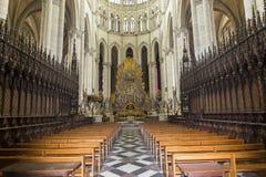 Cathédrale d'Amiens, picardie, France Photo stock