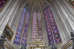 Cathédrale d'Amiens, picardie, France Photos libres de droits