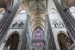 Cathédrale d'Amiens, picardie, France Photos libres de droits