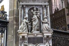 Cathédrale d'Amiens, picardie, France Photos stock