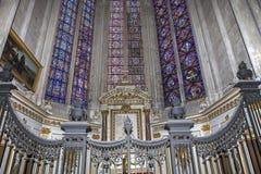 Cathédrale d'Amiens, picardie, France Image libre de droits