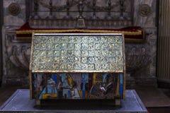 Cathédrale d'Amiens, picardie, France Photographie stock libre de droits