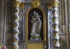 Cathédrale d'Amiens, picardie, France Photo libre de droits