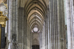 Cathédrale d'Amiens, picardie, France Photo stock