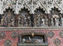 Cathédrale d'Amiens, picardie, France Images stock