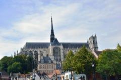 Cathédrale d'Amiens, Picardie, France, l'Europe Photographie stock libre de droits