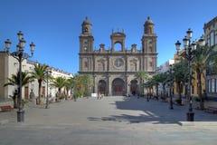 Cathédrale d'ana de rue, Las Palmas Gran Canaria, Espagne Photo libre de droits