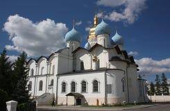 Cathédrale d'annonce à Kazan Kremlin. Russie photos stock