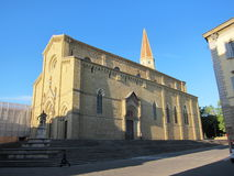 Cathédrale d'Arezzo. Images stock