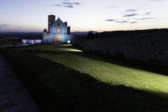 Cathédrale d'Assisi Photo libre de droits