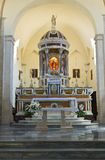 Cathédrale d'Assunta Minervino Murge La Puglia l'Italie Photographie stock libre de droits
