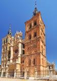 Cathédrale d'Astorga Photos stock