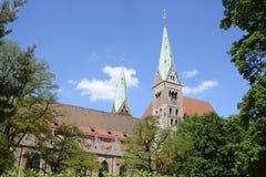Cathédrale d'Augsbourg Images libres de droits
